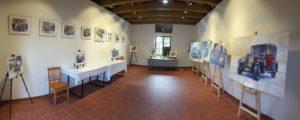 Výstava malíře Yuriye Shevchuka v kapličce sv. Floriána