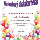 Balónkový disko karneval
