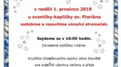 Pozvánka na 1. advent 2019