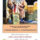 Divadélko Ančí a Fančí přijede zahrát pohádku O VĚRNÉM ŠEMÍKOVI & STATEČNÉM BIVOJOVI
