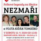 Koncert Folkové legendy na Skalce 12.9.