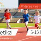 Nábor nových členů do atletického klubu SK Sportuj pod Brdy.