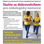 Staň se dobrovolníkem pro onkologicky nemocné