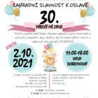 Zahradní slavnost k oslavě 30. výročí MŠ OPUS